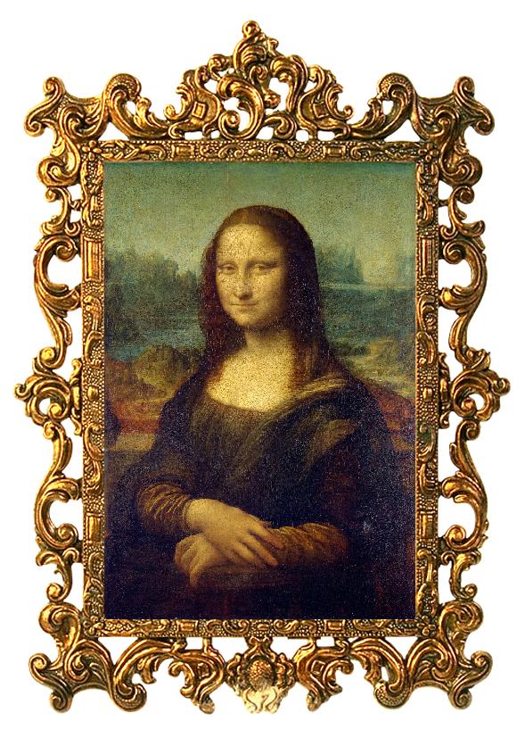 Mona Lisa, Mona Lisa They Have Framed You